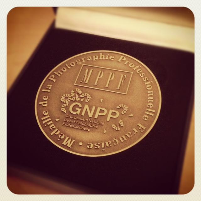 médaille bronze 2012 MMPF 2012: Médaille de Bronze catégorie Nu