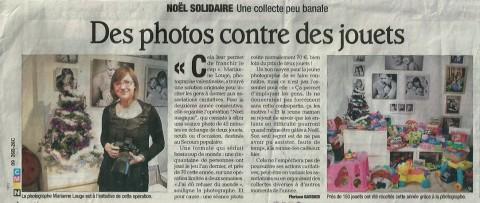 Dauphiné Libéré - 15 Décembre 2011