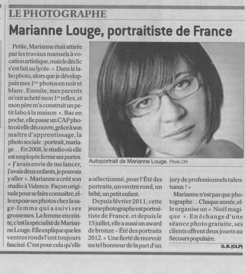 Le Journal de Saône et Loire - 2 Août 2012